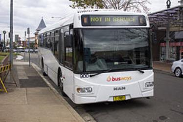 Bustech bodied MAN 18.310 in Castle Hill