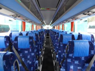 N.A.T. Group Bus Interior