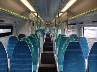 Interior of a Great Northern Class 387