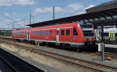RE3864, Hof Hbf to Bamberg