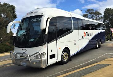 TransWA coach on its way to Bunbury