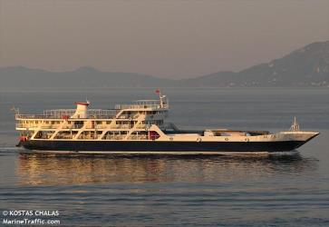 Nanti ferry side view