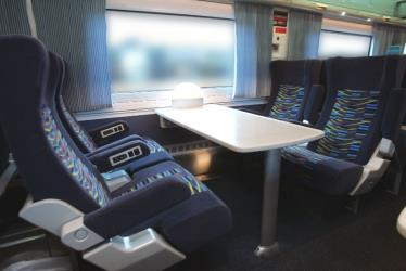Citigold Interior of Irish Rail