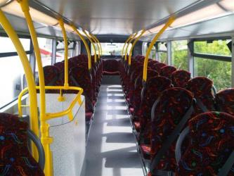 Lloyds Coaches Interior