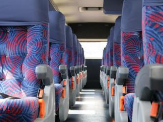 Bus Interior Semibed