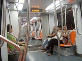 ATAC Roma Train Interior
