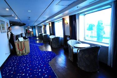 Interior of Weidong Ferry