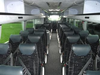 Taf Valley Coaches Interior