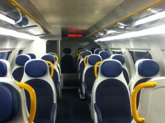 Trenord Train Interior