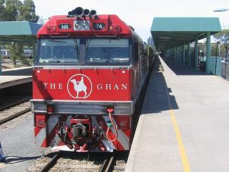The Ghan Locomotive