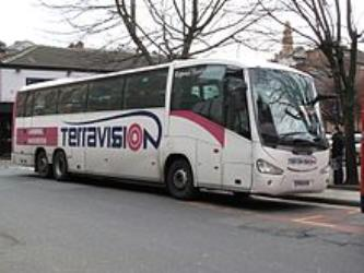 Terravision IT bus side