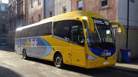 Scottish Citylink bus exterior