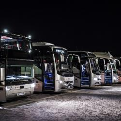 SAJ fleet of buses