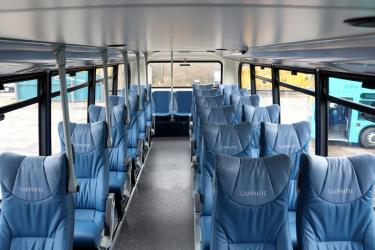 Arriva Buses Wales seats