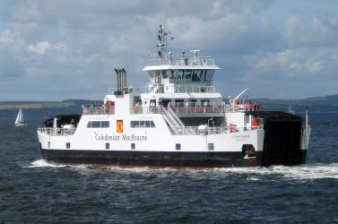 Loch Shira departing Largs