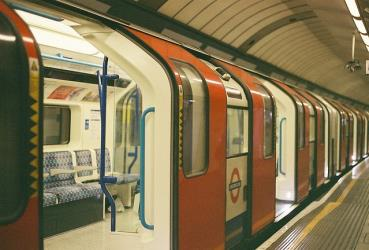 Tube in station