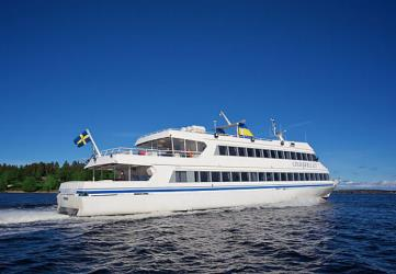 Cinderella boat in the Stockholm archipelago