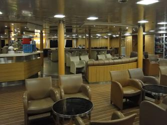 Interior of Fast Ferries
