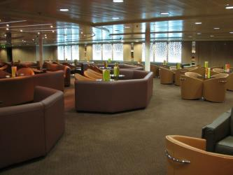 Salon bar at M/S Ariadne