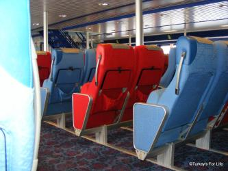 Seats on Aegean Queen