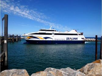 Exterior of Sealink Ferry