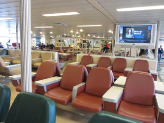 Interior of Ferry Tacoma