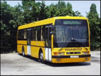 Volanbusz yellow bus