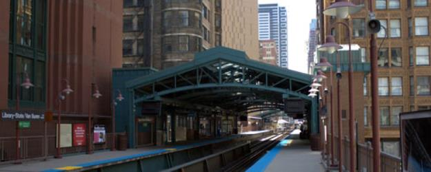 Harold Washington Library Station