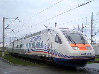 Moscow to Helsinki Allegro