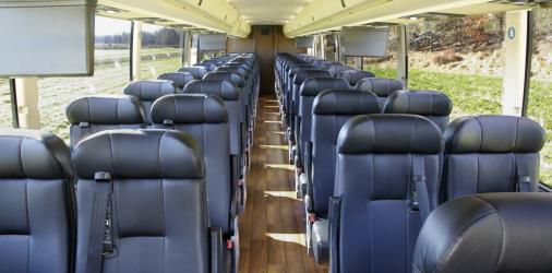 Commuter service interior