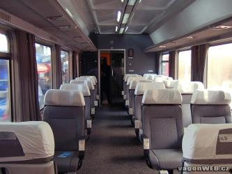 Belgrad to Vienna INTERCITY interior