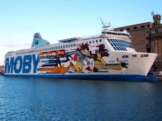 Moby Lines in Sardinia