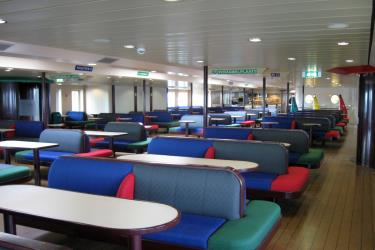 Interior of TESO Ferry