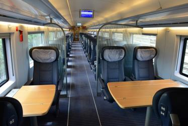 ICE first class interior