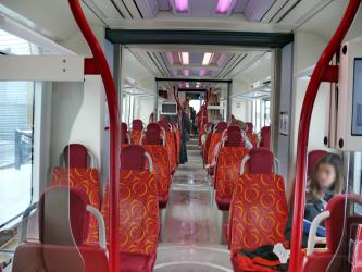 Lyon Rhonexpress Interior
