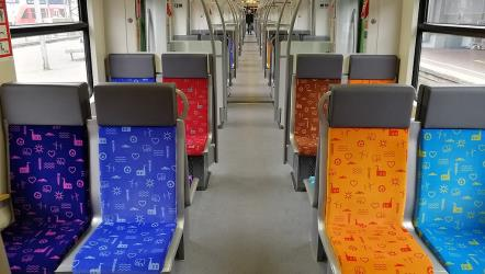 Interior of the S-Bahn