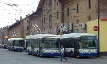 Trolley buses in Riga