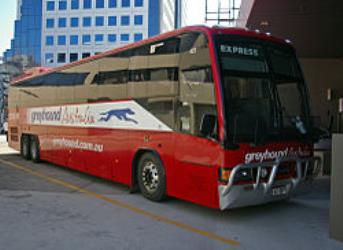 Bus at Jolimont Centre, Canberra