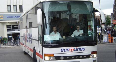 Eurolines UK at Victoria Station