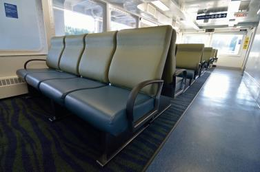 BC Ferries interior