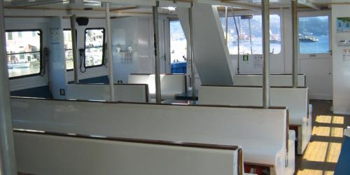 Ferry Stress interior seating