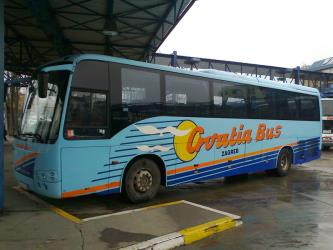 Croatia bus