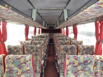 Biss-Tours bus interior