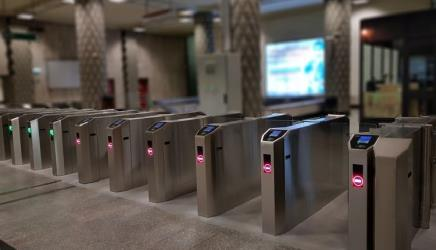 Electronic ticket gates