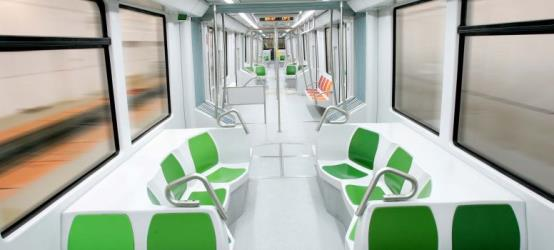 Metro Sevilla Train Interior