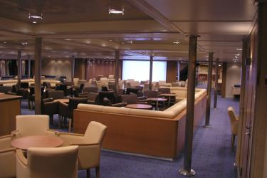 Interior of Skyros Shipping Ferry