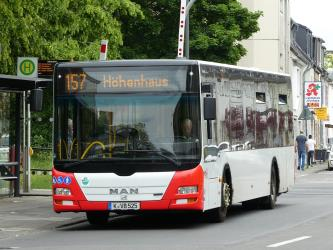 MAN Lion's City on line 157