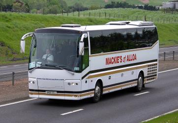 MacKies Coaches Exterior