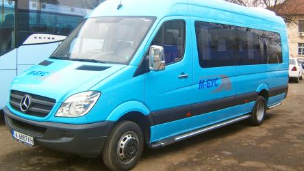 20-seater Sprinter bus
