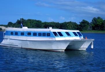 Exterior of Utila Princess